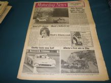 MOTORING NEWS 1975 Apr 24 Monza 1000, Elba Rally, Tavern Rally, 25 Yrs Brands Hatch